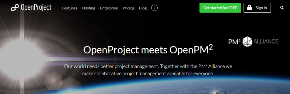PM²Alliance OpenProject Collaboration